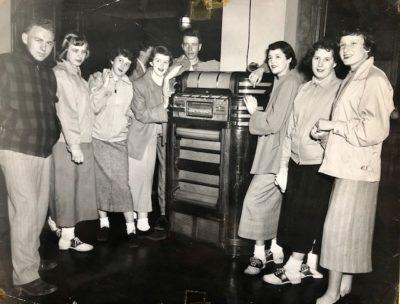 Dry Dock Dances 1950 History