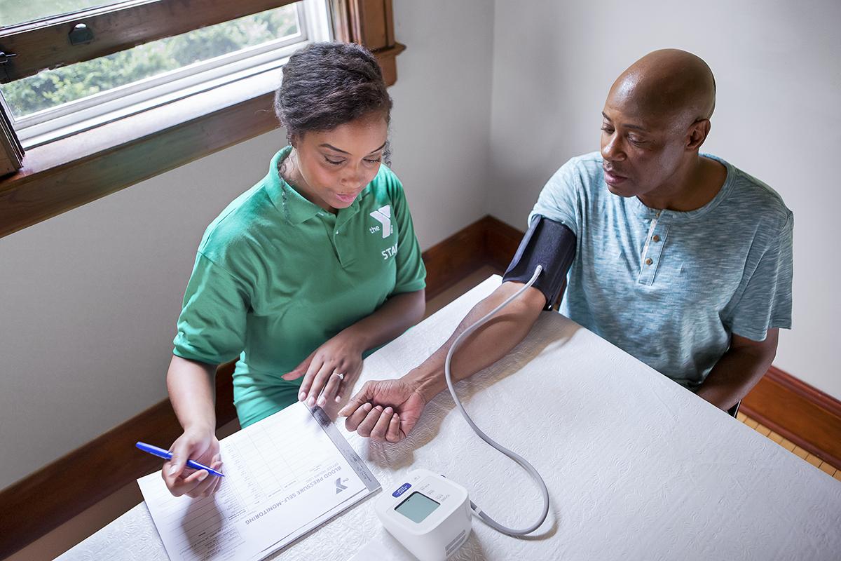 BLOOD PRESSURE SELF-MONITORING | YMCA Kenosha