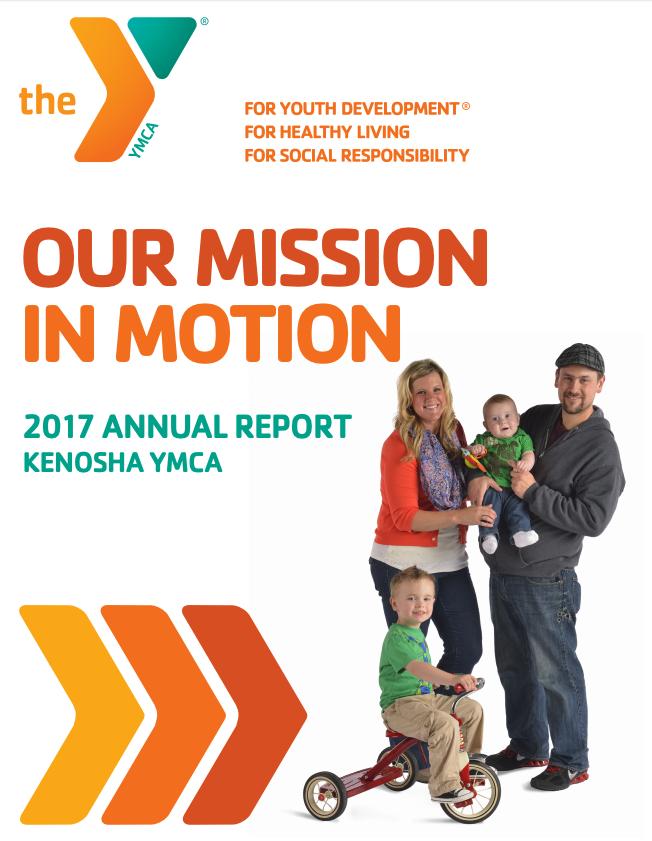 2017 Annual Report   YMCA Kenosha