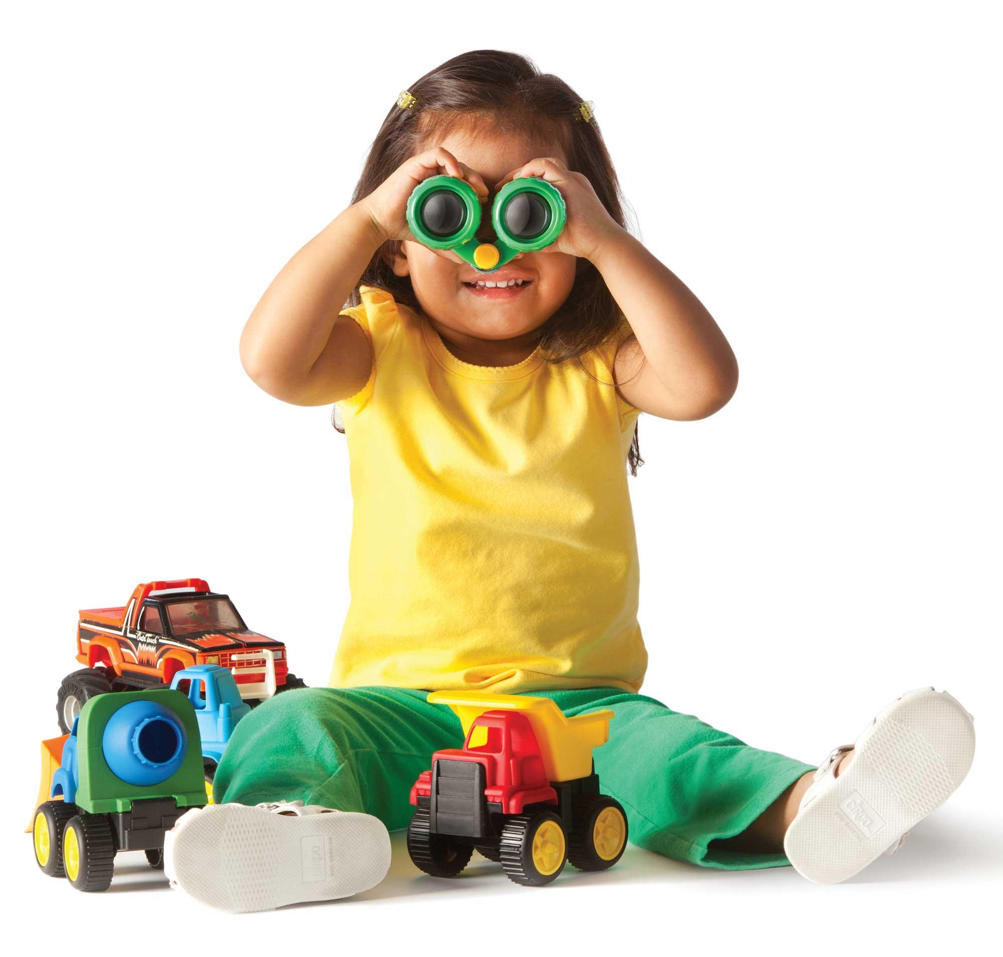 Binoculars Kids, YMCA Childcare