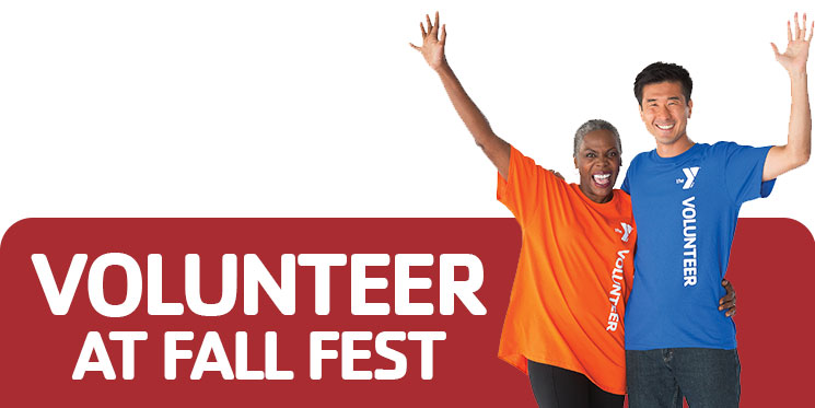 Volunteer at Fall Fest Button